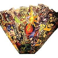 Juego de 10 tattoos tatuaje falso de mangas por Kurtzy TM de Kurtzy