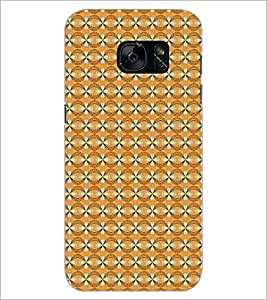 PrintDhaba Pattern D-5270 Back Case Cover for SAMSUNG GALAXY S7 (Multi-Coloured)