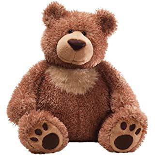 GUND Slumbers Teddy Bear Stuffed Animal Plush, Brown, 17