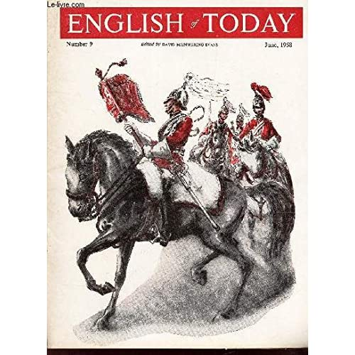 ENGLISH OF TODAY - NUMBER 9 - June, 1958 / Letter from York / Nomber one, London / Winston is a detective, but see what happens / A television play is producted / etc..