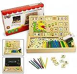 Best Pratiche per le scritture di insegnamento - BBLIKE 176 Pezzi giocattolo in legno giocattoli da Review