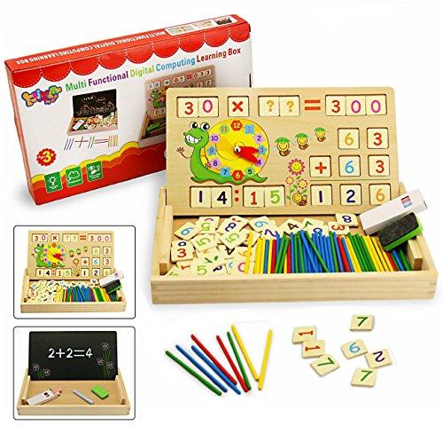 elzeug,BBLIKE Spielzeug Doodle aus Holz Zeichnung,Zeichnung Holzbrett Spielzeug Lernspielzeug f¨¹r Kinder 3 4 5 Jahre Alt (Mathe-spielzeug)