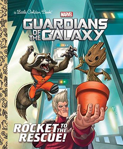 Rocket to the Rescue! (Marvel: Guardians of the Galaxy) (Marvel Guardians of the Galaxy: Little Golden Books) por John Sazaklis