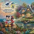 Official Thomas Kinkade: The Disney Dreams Collection 2018 Wall Calendar - inexpensive UK light store.