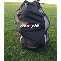 PROSTYLE SPORTS Football/Netball/Rugby 12 Ball Carry Sack Holdall Bag Heavy Duty