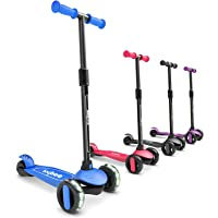 Baybee Alpha-Glide Skate Scooter for Kids, 3 Wheel Kids Scooter, Smart Kick Scooter with Fold-able & Height Adjustable…