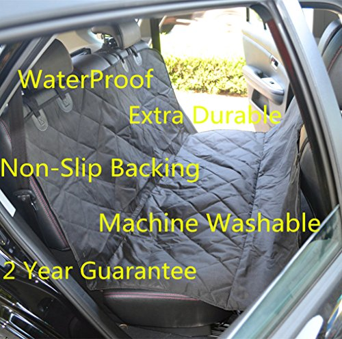 Fragralley Dog Seat Cover Unique Design & Detachable Sherpa Fleece Mat – Ultimate Pet Back Seat Covers for Cars, Trucks… 7