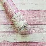 YUELA Die neue Chinesische antike Nachahmung Laufbelag Textur Holz Textur wallpaper Bar klassische Antike ist Retro Women Clothing Store rosa Tapete, Wood-Grain, nur das Hintergrundbild
