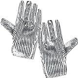 Folat Silberne Pailletten Handschuhe Kinder