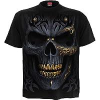Spiral - Black Gold - T-Shirt Black