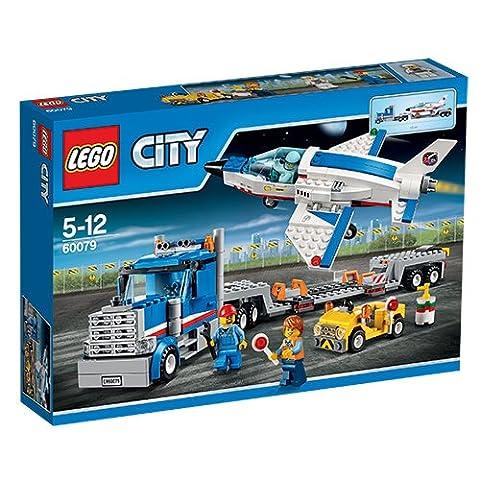 LEGO - 60079 - City - Jeu de Construction - Le Transporteur d'Avion