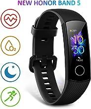 HONOR Band 5 Activity Tracker, Uomo Donna Smartwatch Orologio Fitness Cardiofrequenzimetro da Polso Impermeabile Smart Watch