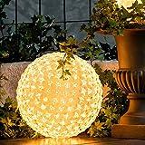 AM-Design · Outdoor-LED-Stern-Kugel 300 Lichter 25cm · transparent warmweiß [Effizienzklasse: A+ Spektrum: A++ bis A]