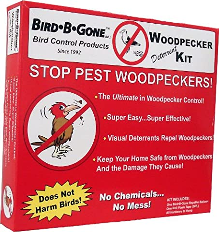 Bird B Gone MMWPKR-KIT Woodpecker Deterrent Kit - Multi-Colour (B-gone Kit)
