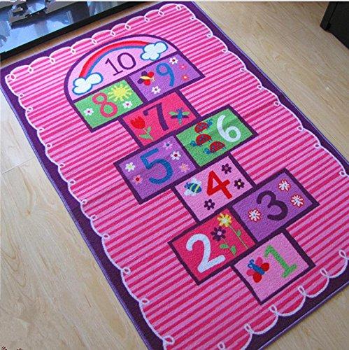 GFYWZ Stuoie di strisciamento giochi gioco della campana per bambini , 100*150
