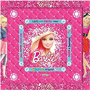 Barbie Kids Carrom Board (Multicolour, 20x20 inches)