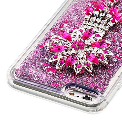 Mk Shop Limited Coque Housse Etui pour iPhone 7 Plus, iPhone 7 Plus Coque en Silicone Glitter, iPhone 7 Plus Silicone Coque Housse Transparent Etui Gel Slim Case Soft Gel Cover, Etui de Protection Cas Multi-couleur 17