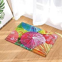 Kwboo Decoración de Paraguas, Juguetes de Paraguas de Papel con Palos para alfombras de baño