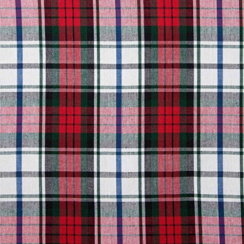homescapes-pure-cotton-furnishing-fabric-macduff-tartan-check-red-green-white-150-cm-wide-thick-yarn