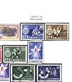 Rumänien 2125,2126-2129,2143-2144, 2160,2171-2172,2212-2213 (kompl.Ausg.) 1963 Eisenbahn, Hunger, Raumfahrt, u.a. (Briefmarken für Sammler)