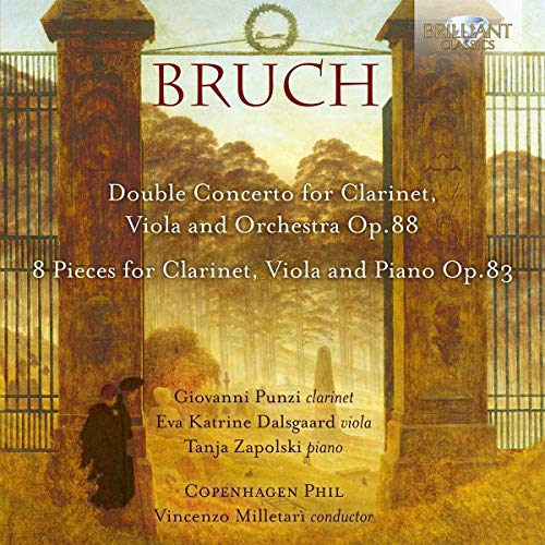 Bruch:Concerto for Clarinet,Viola and Orchestra/+