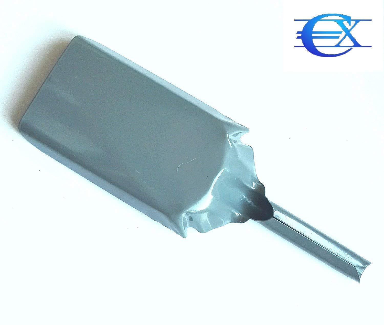 EUROXANTY® Pala Metálica para Chimenea y Barbacoa | Hierro Esmaltado | Largo total 32,5 cm – Ancho 10,5 cm | Mango: Alto 12 cm – Grosor 2,5 cm