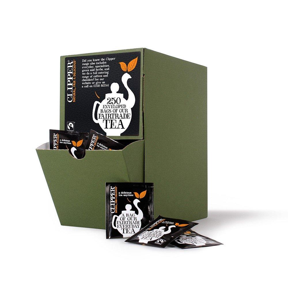 Clipper fairtrade everyday tea (fairtrade) (black tea) (everyday) (250 bags) (brews in 2-4 minutes)
