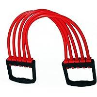 Umravatiya- Adjustable Rubber Gym/Yoga/Indoor Chest Developer/Chest Expander/Exerciser Multi Function Exerciser(5 Adjustable Strength Tubes) Multi Color