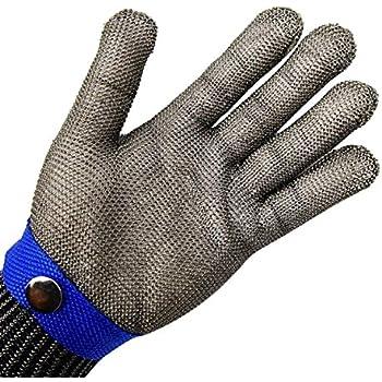 S cucina, giardinaggio, fai da te Oyster Coltello Guanti anti-taglio con paio di guanti anti quotidiano Cuts Livello 5 di protezione EN 388 certificato Piccola