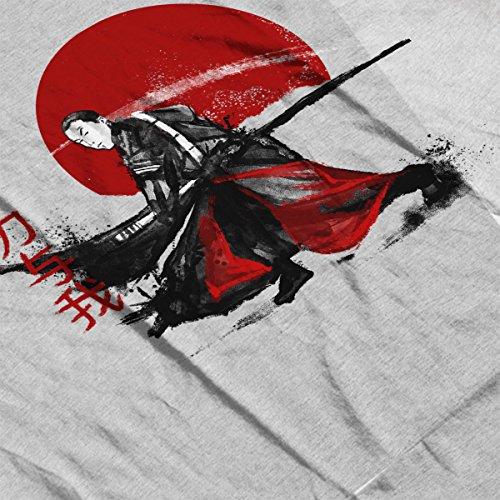 Chirrut Ink Star Wars Rogue One Men's T-Shirt Heather Grey