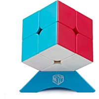 XMD Speed Cube 2x2 Magic Cube Stickerless Puzzle Cube for Kids