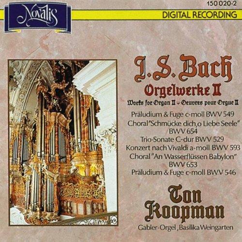 Bach: Orgelwerke II (Organ Wor...
