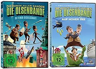 Die Olsenbande in feiner Gesellschaft + Die Olsenbande auf hoher See - 2 DVDs im Set - Deutsche Originalware [2 DVDs]