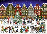 A4-Wandkalender - Winterabend in der Stadt