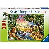 Ravensburger - 13073 - Puzzle Enfant Classique  - Watering Hole - 300 Pièces