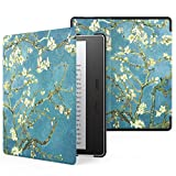 MoKo Hülle für Das neue All-New Kindle Oasis (9th Gen.- 2017 Modell) - Ultra Slim Lightweight Kunstleder Schutzhülle Smart Cover mit auto Sleep/Wake für Amazon Kindle Oasis E-reader, Axishirsch