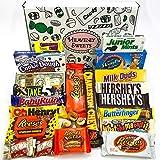 Confezione Grande di Snack Americani | Cioccolato per Idea Regalo di Natale e Compleanno | Vasta Gamma tra cui Reeses Baby Ruth Hersheys | 23 Pezzi in Confezione Vintage di Cartone