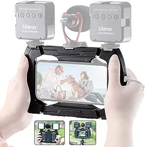 Ulanzi U Rig Lite Smartphone Video Rig Mit 3 Cold Shoe Kamera