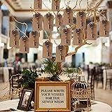 Awtlife, 50 Schlüssel-Flaschenöffner im Vintage-Stil mit Grußtasche für Hochzeitsgeschenke, 5 verschiedene Stile - 6