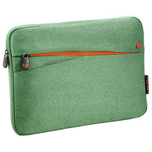 PEDEA Tablet PC Tasche Fashion für 10,1 Zoll (25,6cm) Tablet Schutzhülle Tasche Etui Case mit Zubehörfach, grün