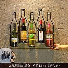 Decoratee Retro Im Europischen Stil Hngende Glas Rot Wein Regal An Der Wand