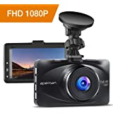 """apeman Dashcam Car Camera Full HD 1080P DVR with 170° Wide Angle, 3"""" LCD Screen, G-Sensor, WDR, Loop Recording, Motion Detection, Parking Monitor"""