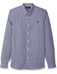 Fred Perry Men's Woven Pattern Shirt