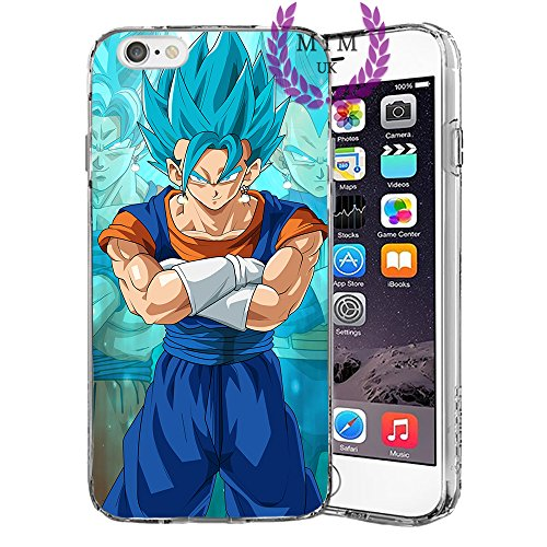Dragon Ball Z Super GT iPhone Hulle/Schalen Case Cover - Hochste Qualitat - Einzigartige Neueste Entwurfe - Alle iPhone Modelle- Viele Entwurfe - Tournament Of Power - Goku Black Rose - Goku Blue - Gohan - Jiren - Vegeta Blue - DBS - DBZ - DBGT - MIM UK (iPhone X, Potara 2) (Dragon Ball Iphone)