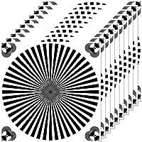 30cm Aufkleber Sticker Siemensstern Auflösung Graukarte Kamera Objektiv Fokus Test chart (10)