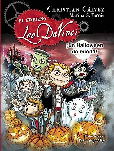 inci 7. ¡Un Halloween de miedo! / A Scary Halloween! (Little Leo Da Vinci 7) ()
