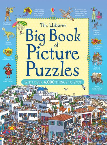 Big Book of Picture Puzzles (Great Searches)