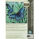 Dimensions Kit Canevas, Duo De Papillons