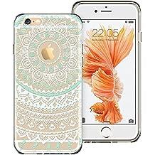 ESR Carcasa iPhone 6 / 6s Funda, Casa de la Moneda de la mandala