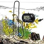 bedee Fish Tank Thermometer Aquarium Thermometer Water Thermometer Submersible Waterproof Digital LCD Aquarium… 12
